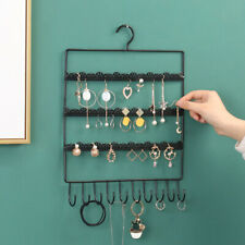 Wall Earring Jewelry Organizer Hanging Holder Necklace Display Stand Rack R Zd