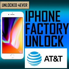 Unlock Service For AT&T USA Clean/Out Of Contract iPhone 3GS 4 4S 5 5S 6 6+ AT &
