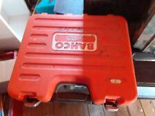 Bahco plastic socket holder tool box  no tools box only
