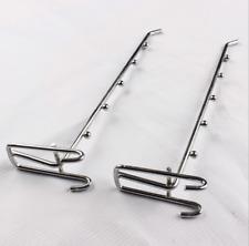 50x Hardware Fitting Supermarket Shelf Hook Mesh Grid Hook Hole Board Plate Hook