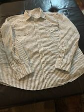 Polo Jeans Ralph Lauren XXL Pearl Snap Western long sleeves striped