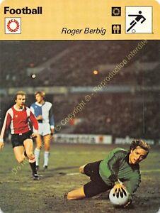 Fiche Photo Football ROGER BERBIG Edit RENCONTRE