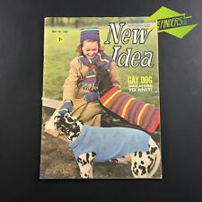 MAY 1965 NEW IDEA MAGAZINE GAY DOG SWEATERS TO KNIT! FASHION VINTAGE ADVERTISING