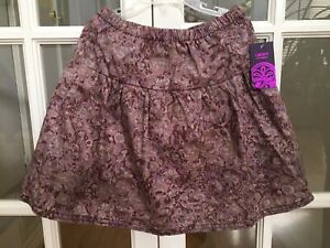 Girls Peek Nordstrom Liberty Art Fabrics Floral Skirt Fully Lined  L (8), NWT