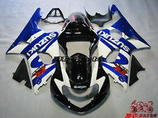 Carrosserie carénage Fairing Injecté Pour Suzuki GSXR 1000 K1 2000-2002 01 L1