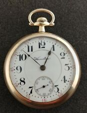 Vintage 18 Size Hamilton Pocket Watch Grade 940 Running And Keeping Time