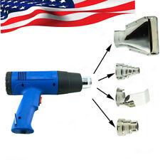 *USA* Heat Gun Hot Air Dual Temperature+4 Nozzles Power Tool 1500 Watt W Heatgun