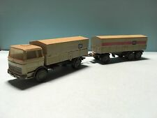 Wiking Mercedes DB Truck Grey/Beige 1/87 Scale Rare/Selten