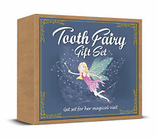 TOOTH FAIRY GIFT SET - STORY BOOK, TOOTH BAG, FAIRY DUST, CERTIFICATES & MORE