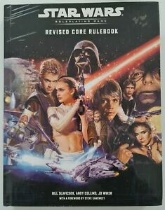 Star Wars Roleplaying Game. Revised Core Rulebook. WOTC. Hardback May 2002.