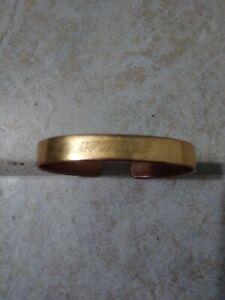 SABONA Copper Magnetic MICHELOB Beer Mens Bracelet London Size: Large