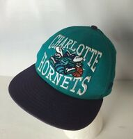 Charlotte Hornets NBA Hat Cap Big Logo Spellout New Era 9Fifty SnapBack Hugo