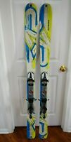 K2 PAYBACK SKIS SIZE 150 CM WITH ROSSIGNOL BINDINGS