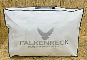 Falkenreck FALKO Happy Morning-All Season Daunendecke, Baumwolle, 200 x 200 x 4