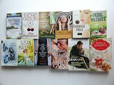 12 ROMANCE LOT Popular Authors * Gibson * Macomber * Mallery * Sparks * Linz  (B
