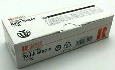 NEW RICOH PPC Refill Staple Type K NO. 502R-AM 3 Cartridge Refills - w/ WARRANTY