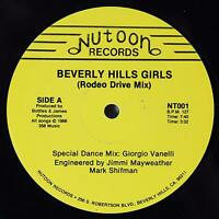 "GIORGIO VANELLI Beverly Hills Girls 12"" RARE 80s Electro Disco Synth Boogie 1986"
