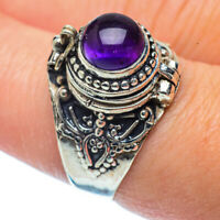 Amethyst 925 Sterling Silver Ring Size 8.25 Ana Co Jewelry R36408F