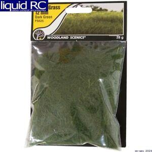 Woodland Scenics FS625 Static Grass Dark Green 12mm