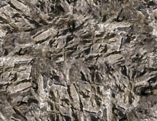 10 Gray ROCKFACE Scenery Sheets - Over 6 SQ Feet of Rock Paper for HO Scale