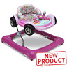 Girl Baby Walker Activity Center Car Light Sounds Wheels Girls Toddler Walk Toy