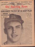 The Sporting News Magazine October 3 1964 Dean Chance 091117jhsn