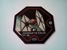JETON STAR WARS ROGUE ONE COSMIC SHELLS LECLERC 2016 - N°27 CHASSEUR TIE D'ELITE