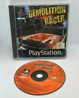 Demolition Racer Video Game for Sony PlayStation PS1 PAL TESTED