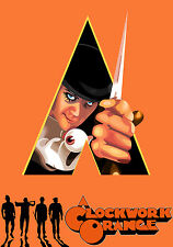 Stanley Kubrick's 1971 A Clockwork Orange Movie Poster 11x17 Malcolm McDowell