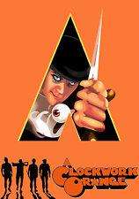 Stanley Kubrick's 1971 A Clockwork Orange Movie Poster 11x17 Malcolm McDowell