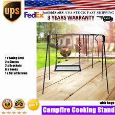 Campfire Cooking Stand Outdoor Cooking stainless Steel Bbq Cooking Equipment Usa