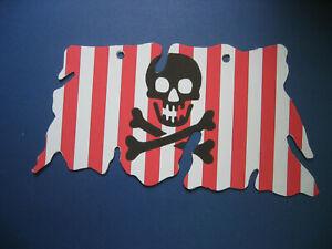 Ersatz Segel für Piratenschiff 6281 + 6296 Shipwreck Island Cloth Sail KO