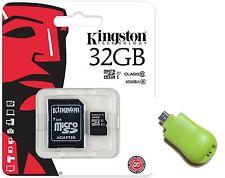 Kingston 32GB microSD 32G microSDHC 45MB/s C10 SD SDHC SDC10G2/32GB +T02 OTG USB