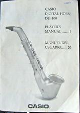 Casio Dh-100 Digital Horn Original Owner's User's Operating Manual Book, Japan