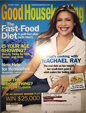 Good Housekeeping August 2006 Rachael Ray; Fast-Food Diet NEW & PERFECT!