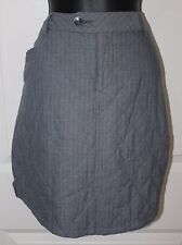 Horny Toad Chambord Skirt Blue Steel Womens Size 8