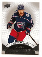 2017-18 UD PREMIER ARTEMI PANARIN SHORT-PRINTED BASE #54/249 (BLUE JACKETS)