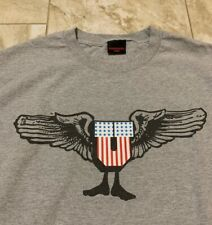 """UNDFTD Undefeated """"U"""" USA Flag Wings T-Shirt Size Men's Large"""