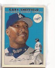1991 FLEER GLOSSY TEAM SET LOS ANGELS DODGERS GARY SHEFFIELD A