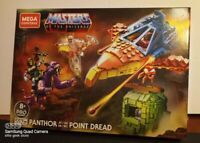 Masters of the Universe Mega Construx Set Panthor at Point Dread *IN HAND*