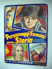 Personaggi famosi della Storia COMPLETO Album DellArte Figurine Collezione Libro