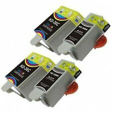 4 Kodak Ink CartridgeS For 30 XL Black 30CL ESP C315 C310 C110 C115 Hero 3.1 5.1