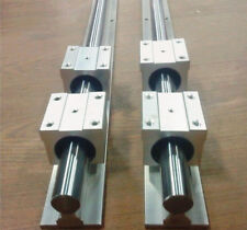 SBR20-3000mm 20MM LINEAR SLIDE GUIDE SHAFT 2 RAIL+4SBR20UU BEARING BLOCK set b3