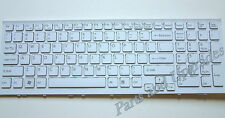 OEM Sony Vaio PCG-71211W PCG-71211M PCG-71211N White keyboard With Frame NEW USA