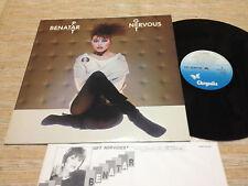 PAT BENATAR-Get Nervous  Japan LP