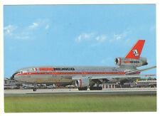 AeroMexico Airlines Douglas DC 10-30 Postcard
