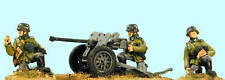 SHQ FBG042 1/76 Diecast WWII 2.8cm sPzb 41 Anti-Tank Gun & Trailer-Inf Carriage