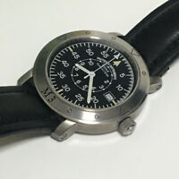 MUHLE GLASHUTTE Automatic Winding M13050 Stainless Steel 42mm Analog Men's Watch