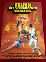 Fluch des verborgenen Schatzes Kinoplakat Poster A1, David Warbeck, John Steiner