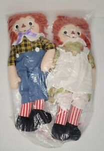 Hasbro 2003 Doll Raggedy Ann and Andy